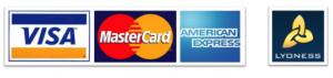 Placanje voznji u vozilima City Taxi je moguce sa karticama: Visa, Master, American express kao i Lyoness